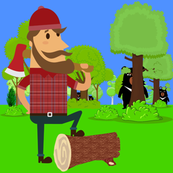 Lumberjack  and Suspicious Bears