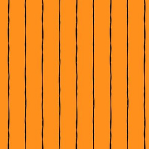 pinstripes black on orange » halloween