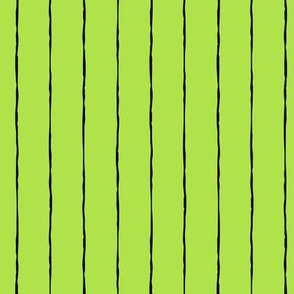 pinstripes black on lime green » halloween