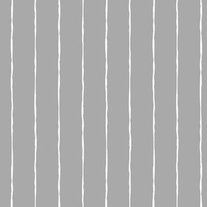pinstripes white on light slate grey » halloween - monochrome