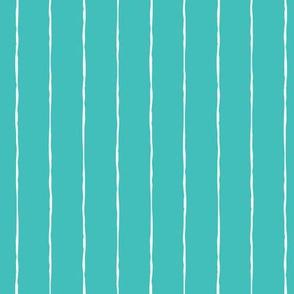pinstripes white on teal blue » halloween