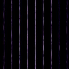 pinstripes purple on black » halloween
