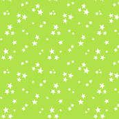 starry white on lime green » halloween stars