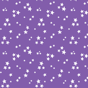 starry white on purple » halloween stars