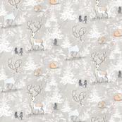 Vintage Woodland Christmas (MICRO)