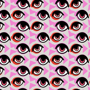 Eyes Geometric Pattern