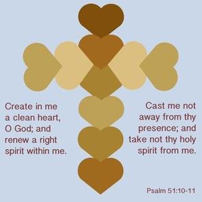 Psalm 51 Cross
