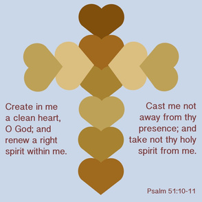 Psalm 51 Cross large