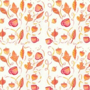 Fall Acorns + Coffee