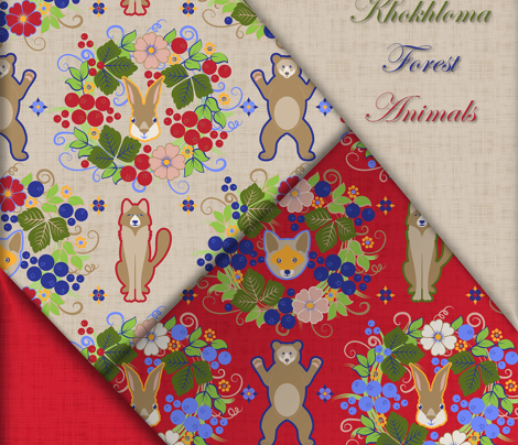 Rkhokhloma_forest_animals_ecarlate_comment_717025_preview