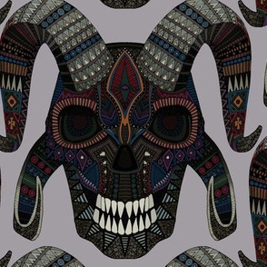 demon skull heather