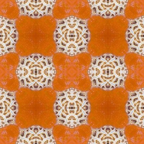 Pumpkin Harvest Checkerboard