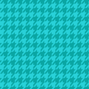 Houndstooth Ocean Blues