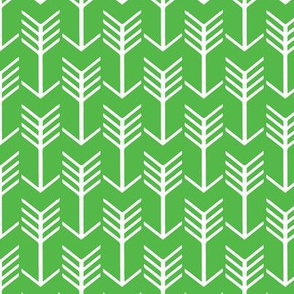 Arrows Lime Green and White