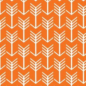 Arrows Orange and White