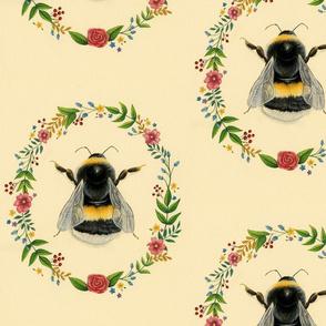Floral Bumblebee