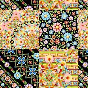 Crazy Crazy Patchwork Quilt 2