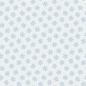 Winter snowflakes (light)