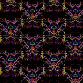 Neon Lily-Tiki Man