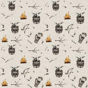 Bears & BowsNarrows (mini)
