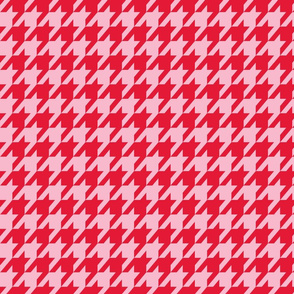 Houndstooth Valentine's Day