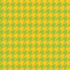 Houndstooth Summer Citrus