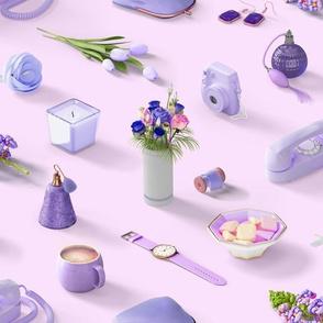Girl's Purple Dream