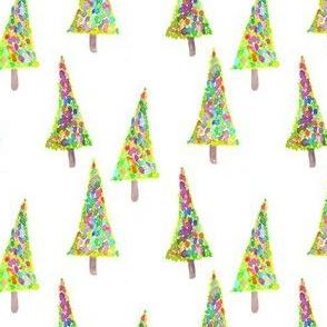 christmas tree painty