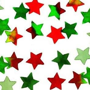 christmas stars dark