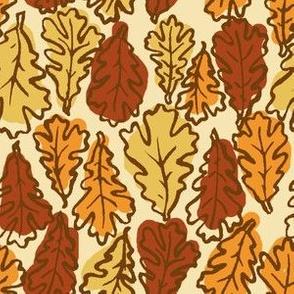Oak Leaves // Warm