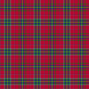 "West Virginia official tartan - 6"" repeat"