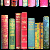 Fall Home/  Antique Books /Vintage Bookshelf/ victorian