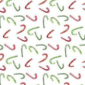 candycane red green