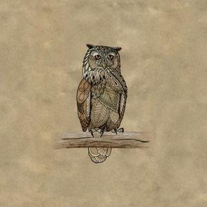 Paper Bag Owls