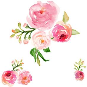 """LARGE - 36 """" Roses for Julie"""