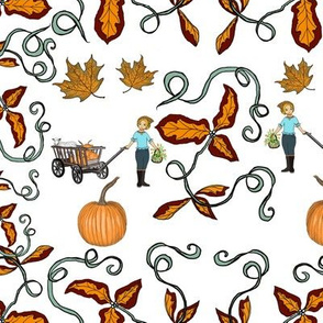 Autumn Country Girl