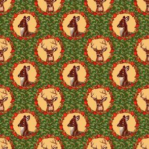 camo_deer_circles_tan_6x6