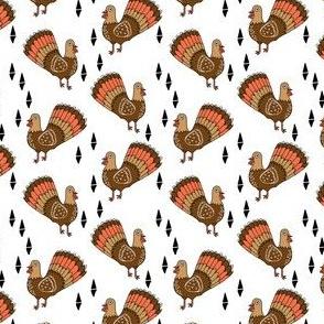 thanksgiving turkey // turkey trot cute bird autumn fall turkeys thanksgiving fabric