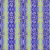Blue Moonlit Ripples - Vertical Stripes, Medium Scale