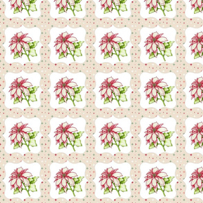 Starry Poinsettia
