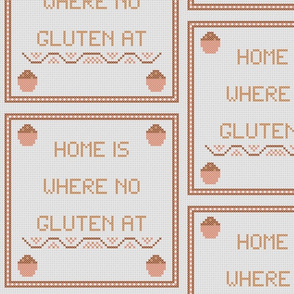 Home is where  no  gluten at