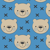 bear-face-on-dark-blue