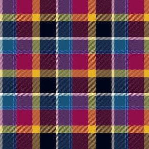 Maryland tartan I - registered colors