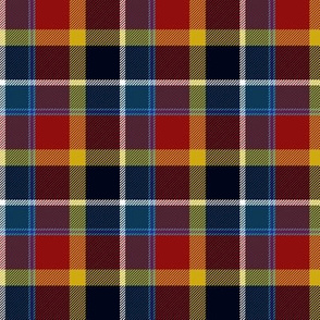Maryland tartan I - flag colors