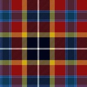 Maryland tartan 2 - flag colors