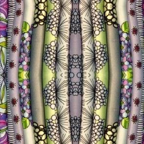 Folded Fabric Stripe V