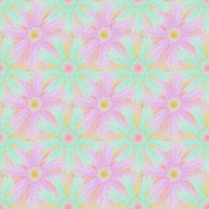 Tassel Flowers Pastel Mint, Lavender and Sand