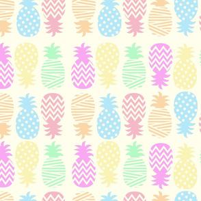 Bright pines on lemon