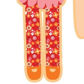 cut and sew doll - fat  quarter