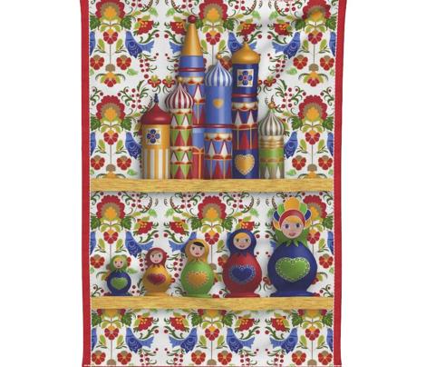 дом Sweet дом (Tea Towels set)